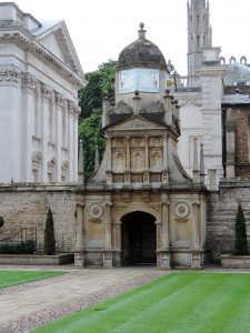 Adrian Burford: Caius College, Cambridge