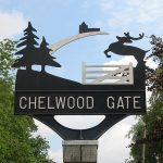 Chelwood Gate village sign