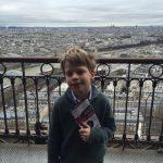 No 1 Son feeling a little peeky in Paris