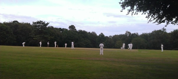 Adrian Burford at the Ashdown Forest Cricket Club