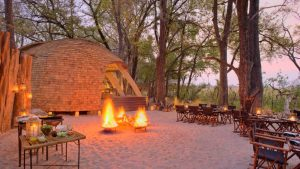 Adrian Burford's favourite Okavango spot; Sandibe