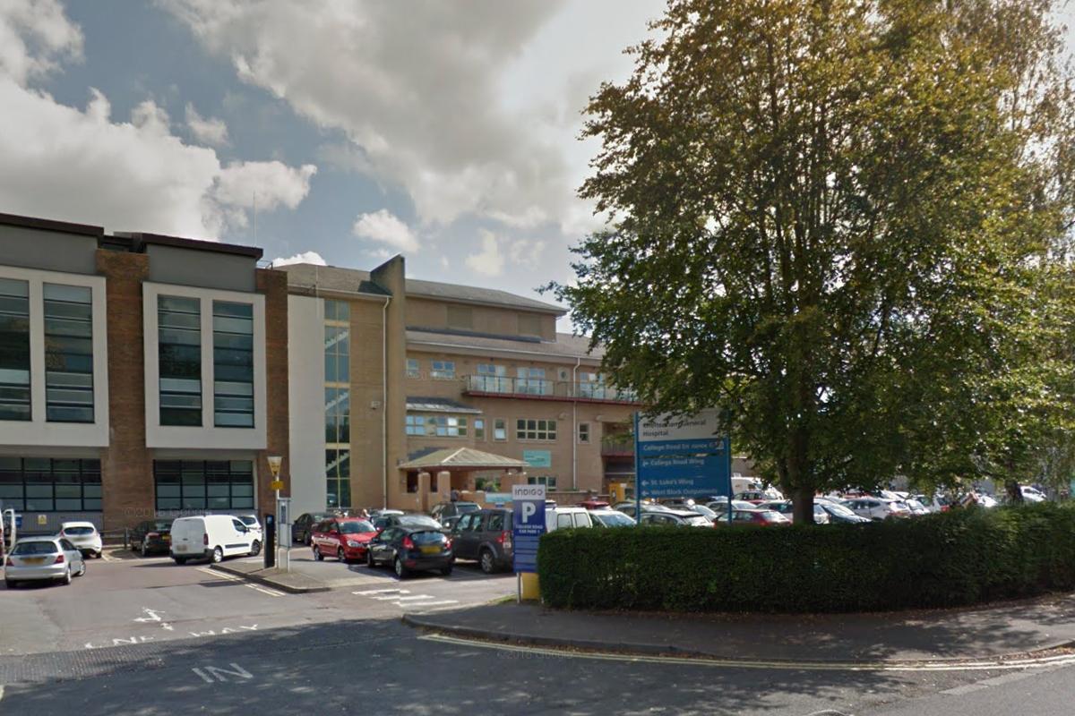St Luke's Wing of the Cheltenham General Hospital