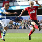 Luke Freeman scores for QPR at Loftus Road, 9th September 2017
