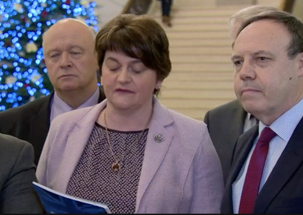 "Arlene Foster rejects Ulster ""alignment"" with Ireland"